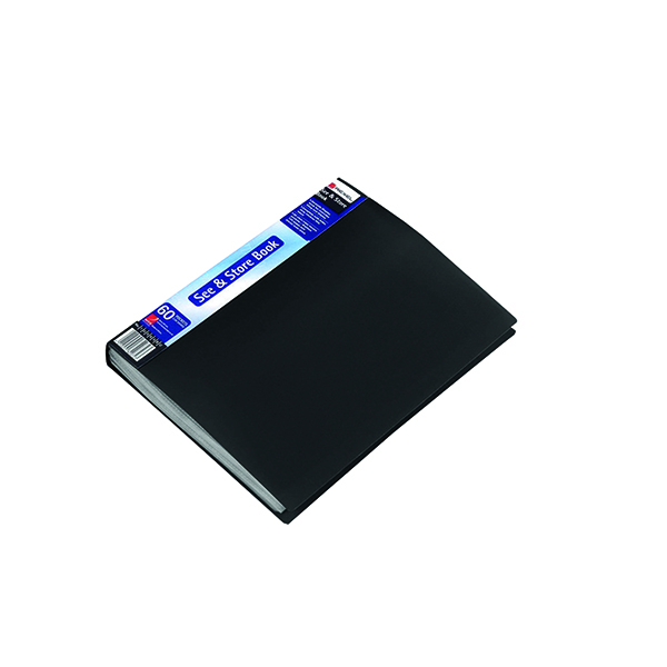 Other Rexel See and Store Display Book 60 Pocket A4 Black 10565BK