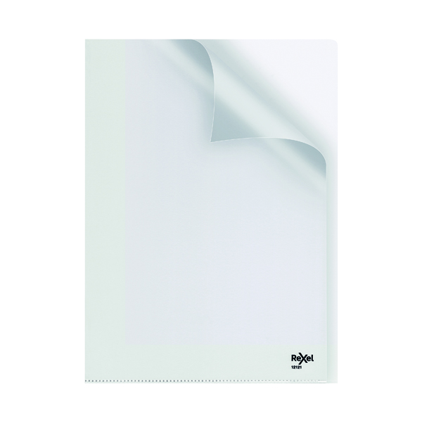 Rexel Nyrex Cut Back Folder A4 Clear (25 Pack) GFA4 12121