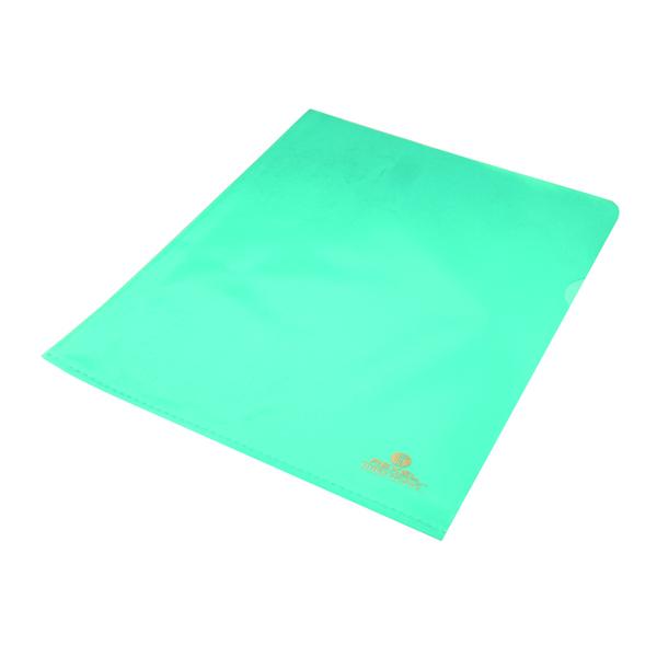 Rexel Nyrex Cut Flush Folder A4 Blue (25 Pack) 12161BU