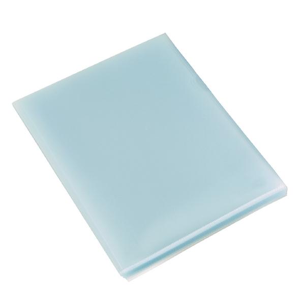 Rexel Budget Cut Flush Folder A4 Clear (100 Pack) 12182