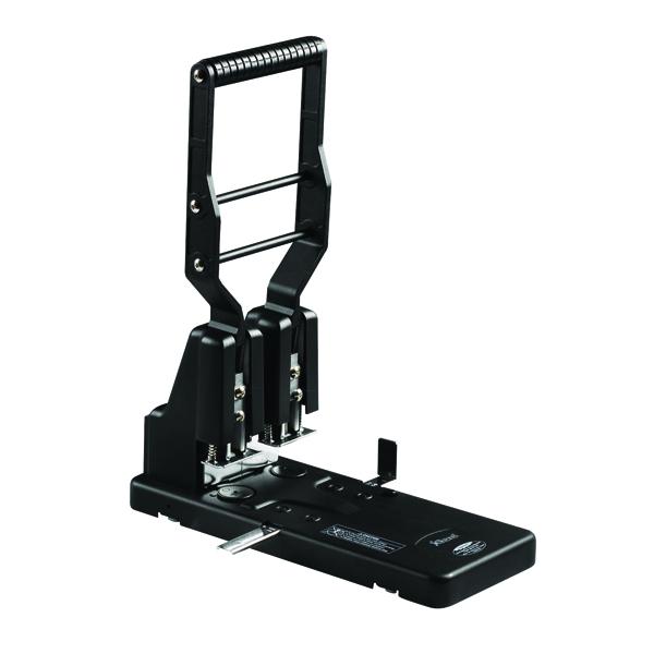 Rexel HD2300 Ultra Heavy Duty Hole Punch Black 2100994