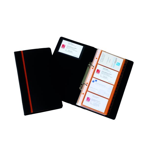 Album Rexel Professional Business Card Book Black 2101131