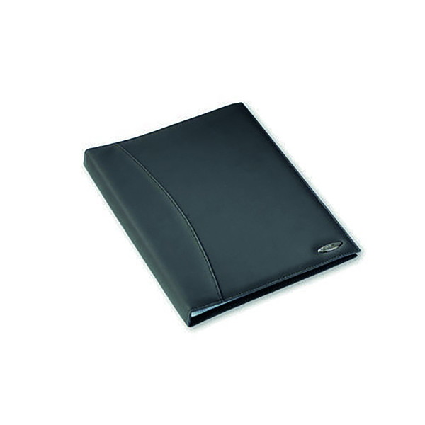 Rexel Soft Touch Smooth Display Book 36 Pocket A4 Black 2101189