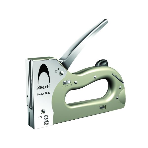 Tackers Rexel Heavy Duty Tacker Silver 2101209