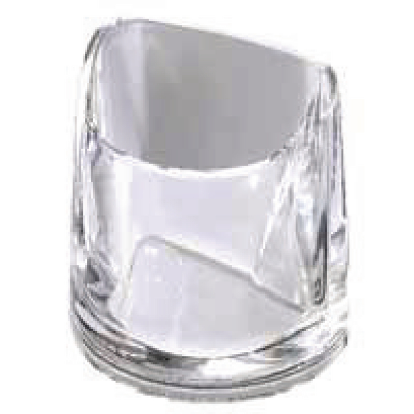 Rexel Nimbus Clear Acrylic Pencil Cup 2101502