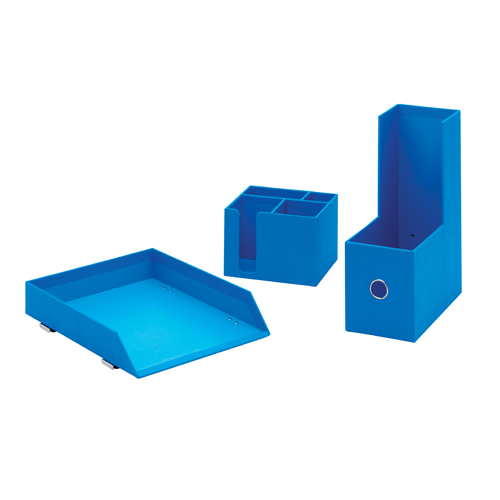 Rexel Joy Desk Accessory Bundle Blissful Blue 2104197