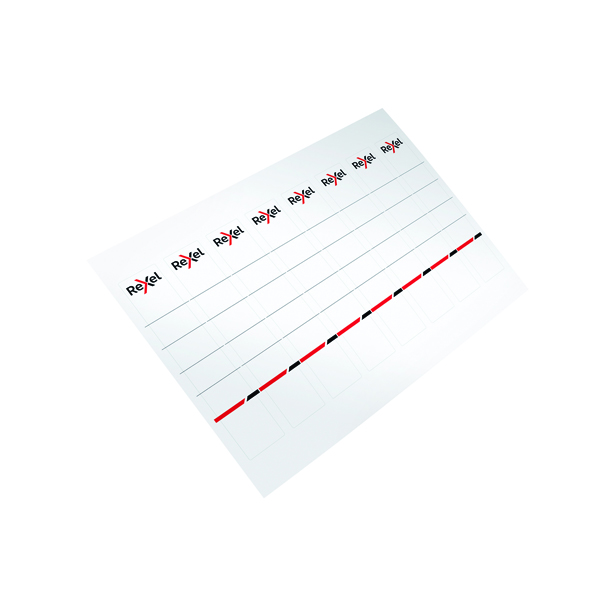 File/Strips/Labels/Tags/Tabs Rexel Printable Card Spine Label 28x158 mm (80 Pack) 2115550