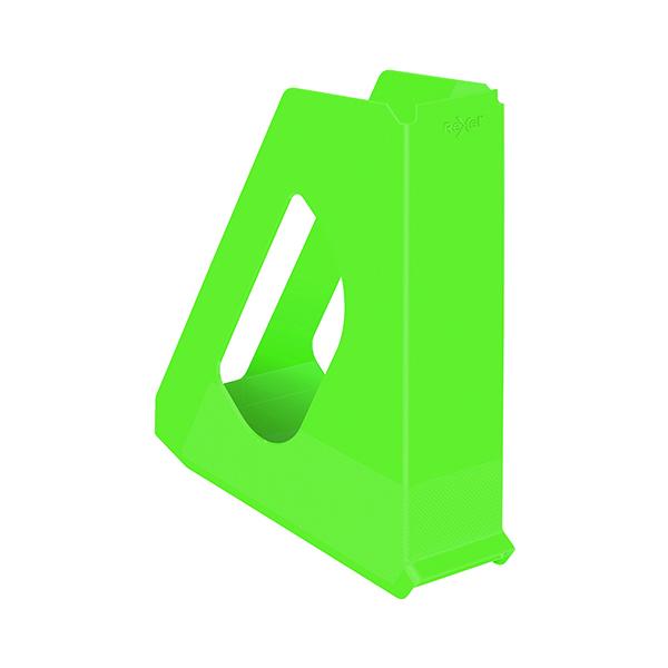 Rexel Choices Magazine File Green 2115605