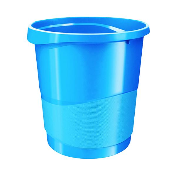 Rexel Choices Waste Bin Blue 2115620