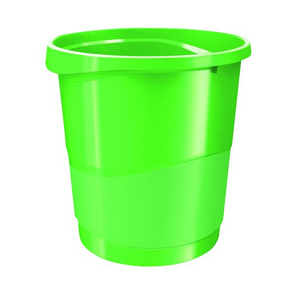 Rexel Choices Waste Bin Green 2115622
