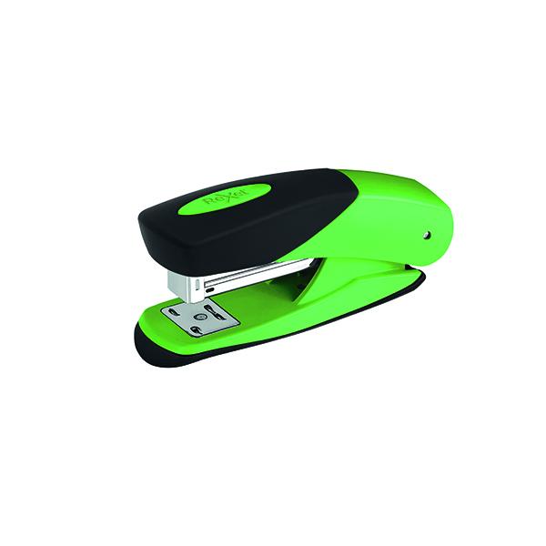 Rexel Choices Matador Half Strip Stapler Green 2115690
