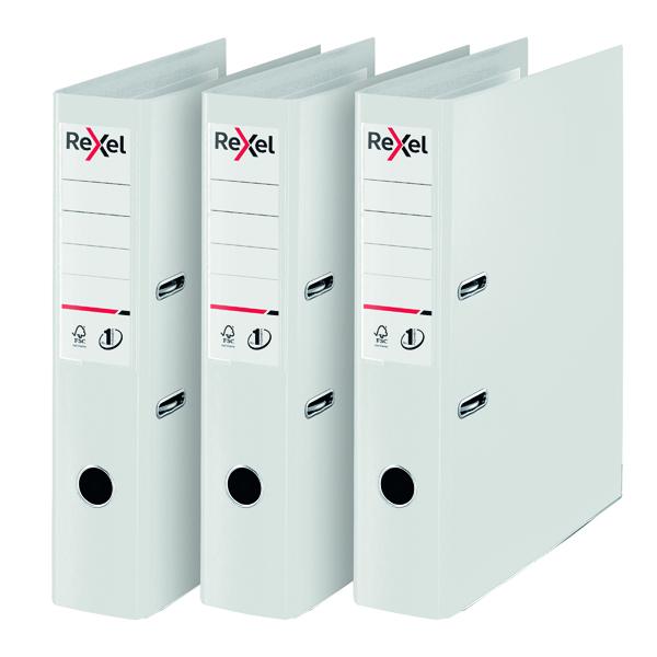 Rexel Choices Lever Arch File Foolscap Polypropylene Green 3 For 2 RX810231