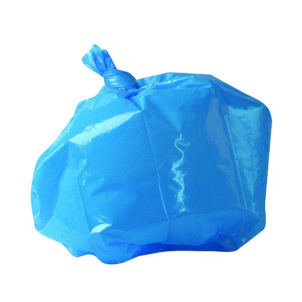 Bin Bags & Liners 2Work Medium Duty Refuse Sack Blue (200 Pack) CS004