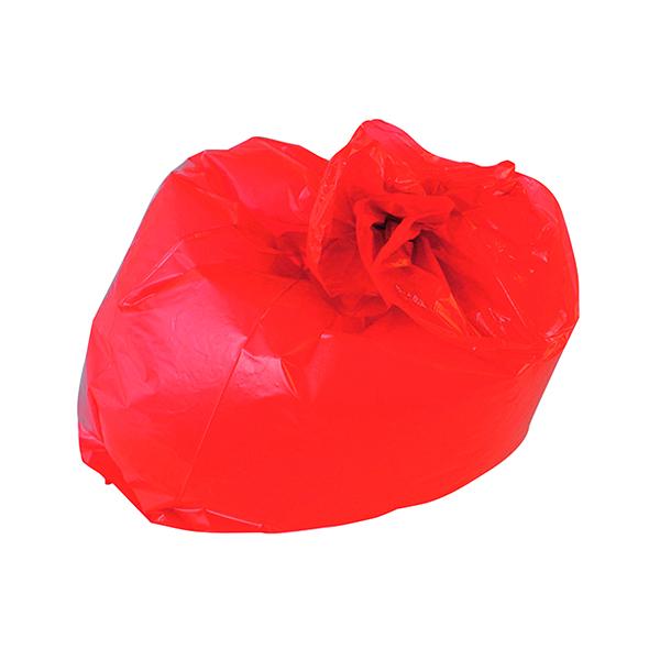 Bin Bags & Liners 2Work Medium Duty Refuse Sack Red (200 Pack) CS003