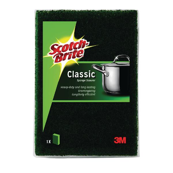 Cloths / Dusters / Scourers / Sponges Scotch-Brite Classic Scouring Sponge (10 Pack) UU003643432