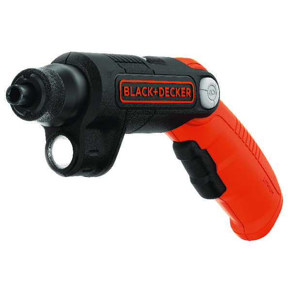 Planes, Chisels & Files Black and Decker Screwdriver With Flash BDCSFL20C-GB