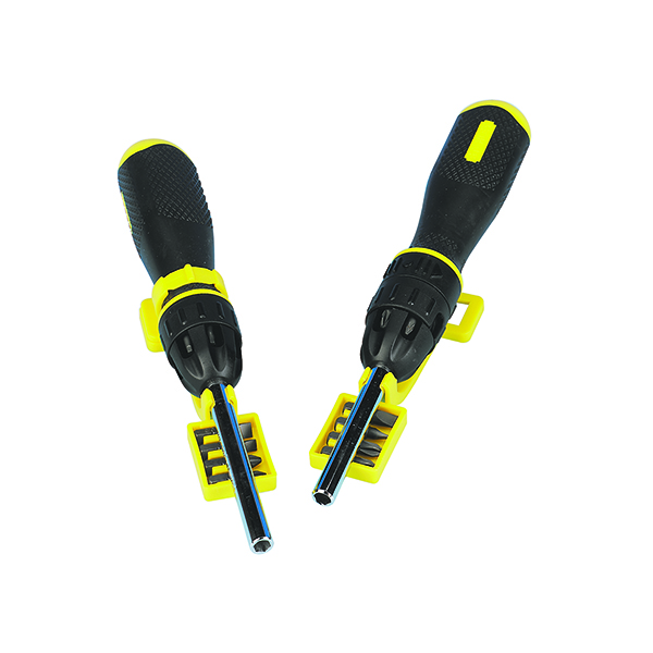 Stanley Multi-Bit Ratchet Screwdriver 0-68-010