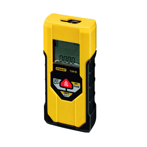 Hand Stanley TLM 99 Laser Measure Yellow 1-77-910