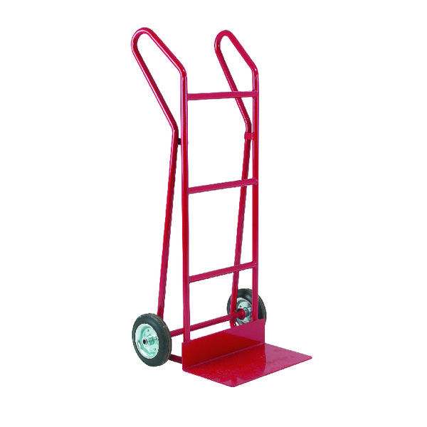 Hand Truck Heavy Duty Plate Footiron 254mm 309038
