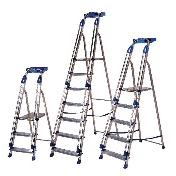 Blue Seal Aluminium Ladder 6 Tread 311496
