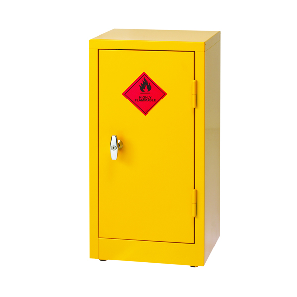 VFM Yellow Hazardous Substance Storage Cabinet 712mm 188737