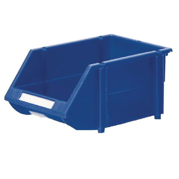 Containers VFM Blue Heavy Duty Storage Bin (12 Pack) 360234