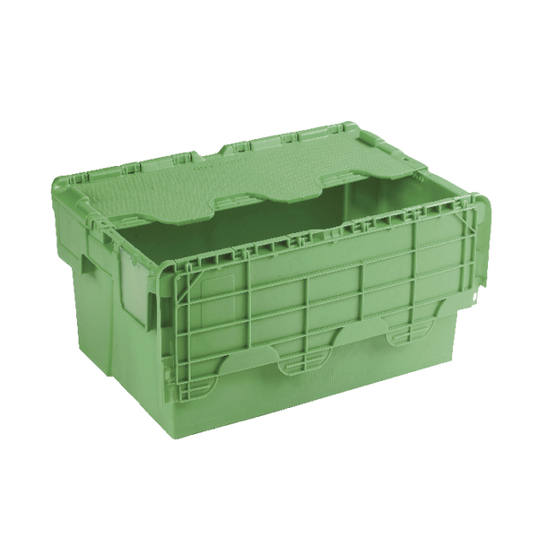 Containers Green Attached Lid Container 54L 360330