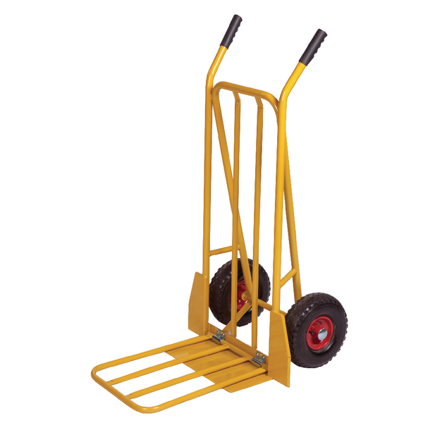 Sack Yellow General Purpose Sack Truck With Folding Footplate 382848