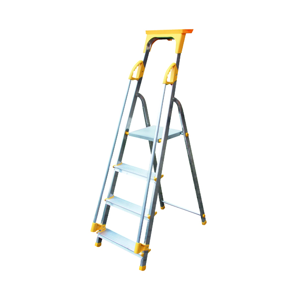 Steps Aluminium Safety Platform Steps 4 Tread 405012