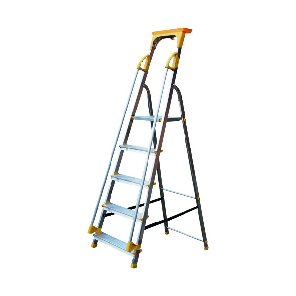 Steps Aluminium Safety Platform Steps 5 Tread 405013