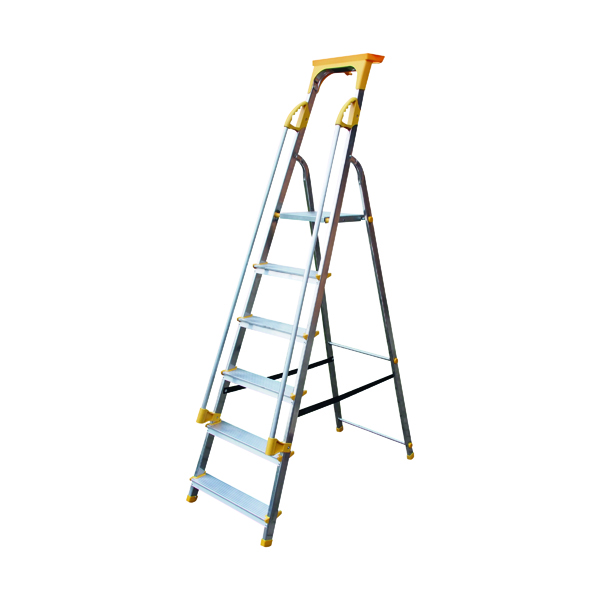 Steps Aluminium Safety Platform Steps 6 Tread 405014