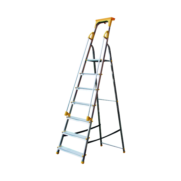 Steps Aluminium Safety Platform Steps 7 Tread 405015