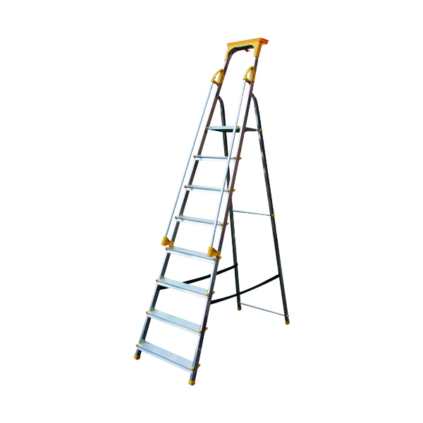 Steps Aluminium Safety Platform Steps 8 Tread 405016