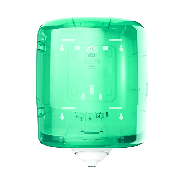 Hand Towels & Dispensers Tork Reflex M4 Centrefeed Dispenser Turquoise 473180