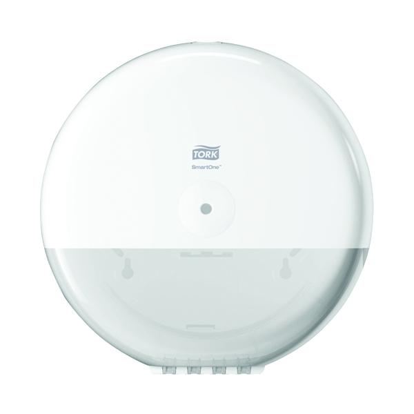 Tork SmartOne Toilet Paper Dispenser White (Pack of 1) Ref 680000