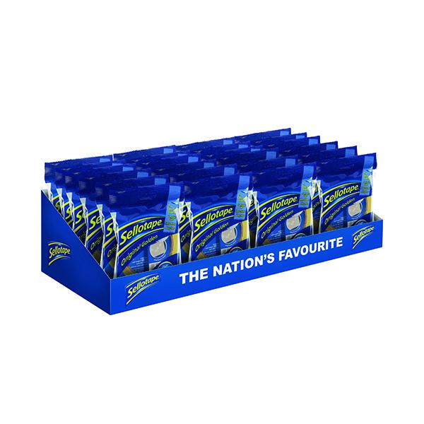 Sellotape Original Golden Tape 24mmx50m (24 Pack) 1677859