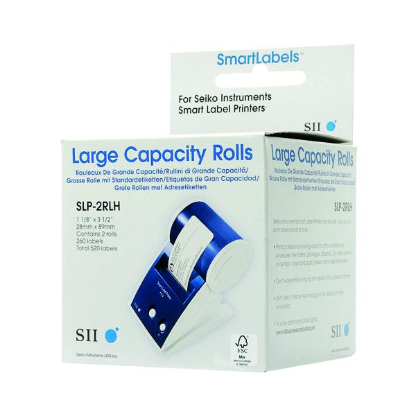 Seiko White 29x89mm Address Label (520 Pack) SLPM2RLH