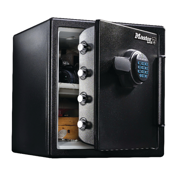 Master Lock Fire-Safe Water Resistant Safe Electronic Lock 34.8 Litres LFW123FTC