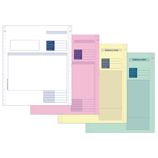 Invoice Custom Forms Sage Invoice/Delivery Note (500 Pack) SE04