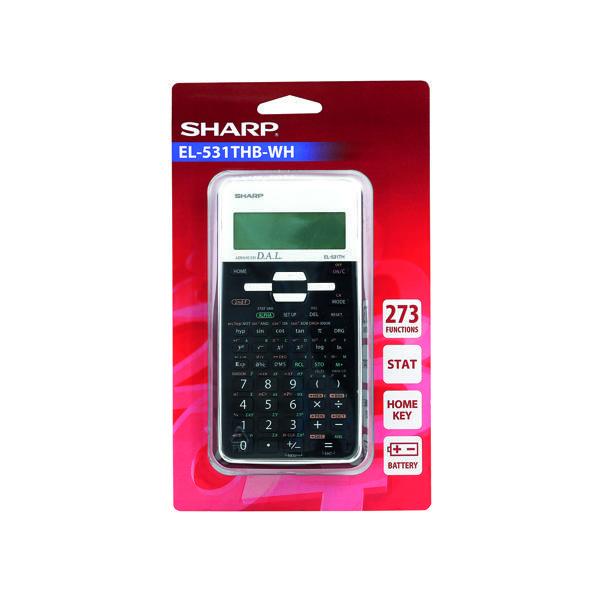 Sharp Black EL-531XH Scientific Calculator EL531XBWH