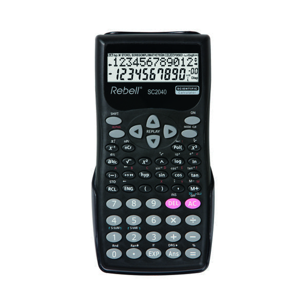 Rebell Scientific Calculator 240 Functions SH50523