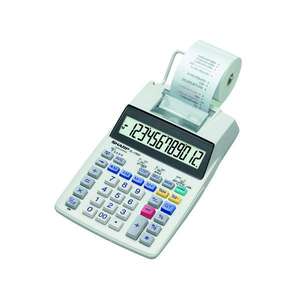 Printing Calculator Sharp Printing Calculator EL1750V