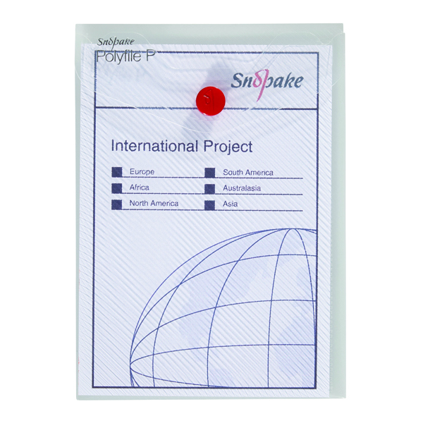 Other Sizes Snopake Polyfile P File Wallet Portrait A6 Clear (5 Pack) 13293