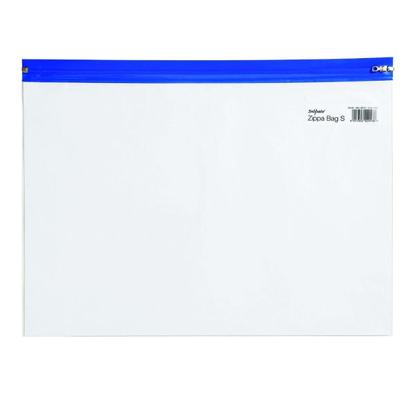 A4 Snopake Zippa-Bag S Classic A4 Blue (25 Pack) 12736