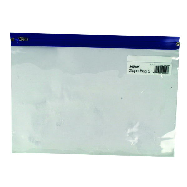 A4 Snopake Zippa-Bag S Classic A4 Plus Blue (25 Pack)12804