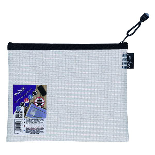 Snopake Eva Mesh Zippa Bag A5 (3 Pack) 15838