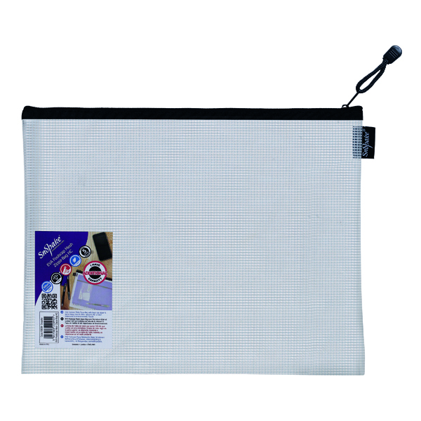 Other Sizes Snopake Eva Mesh Zippa Bag Foolscap (3 Pack) 15839