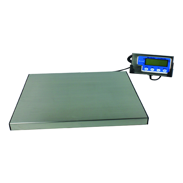 Salter Electronic Parcel Scale 60kg Silver WS60
