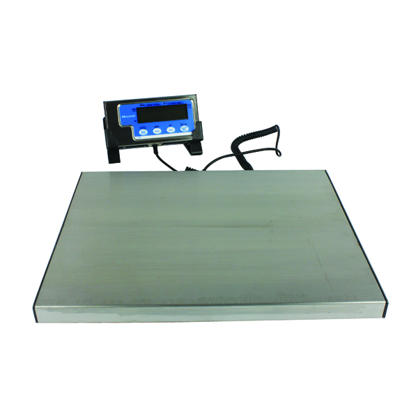 Salter Electronic Parcel Scale 120kg Silver WS120