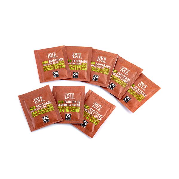 Fairtrade Brown Sugar Sachets (1000 Pack) A03621